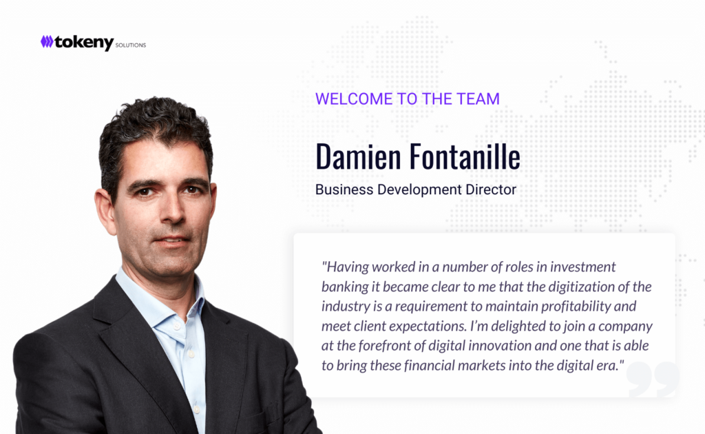 Damien Fontanille - Tokeny Solutions