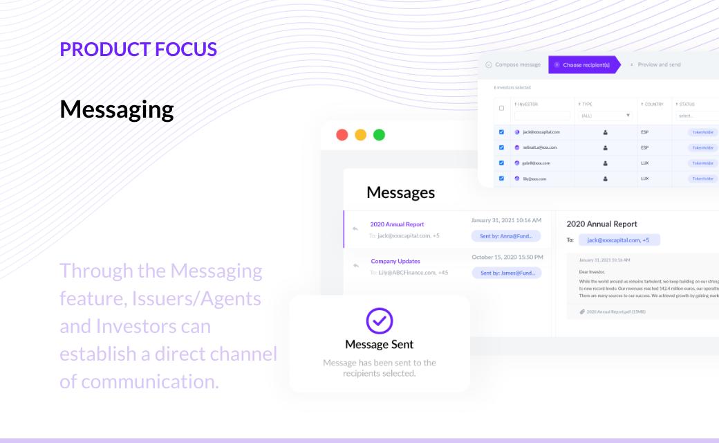 T-REX Messaging feature
