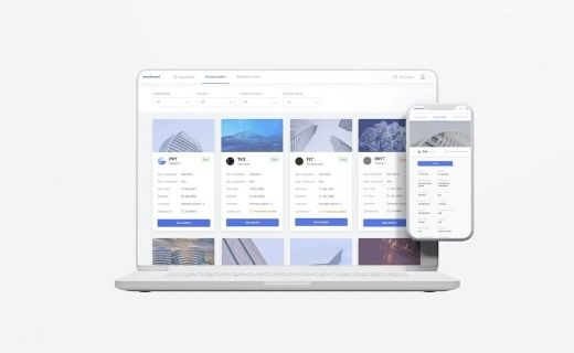 Marketplace for security token issuers