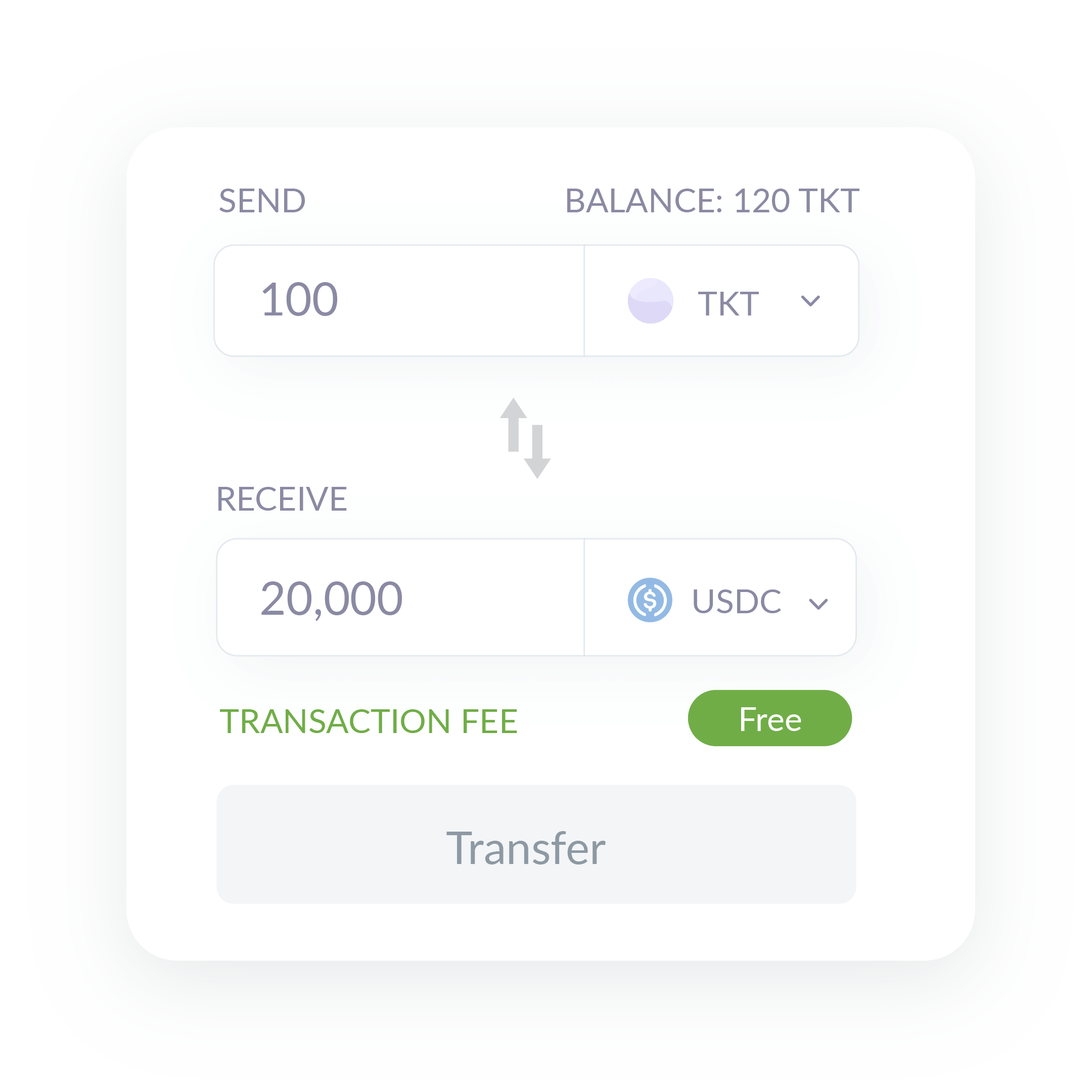 Security Token Transaction fee free