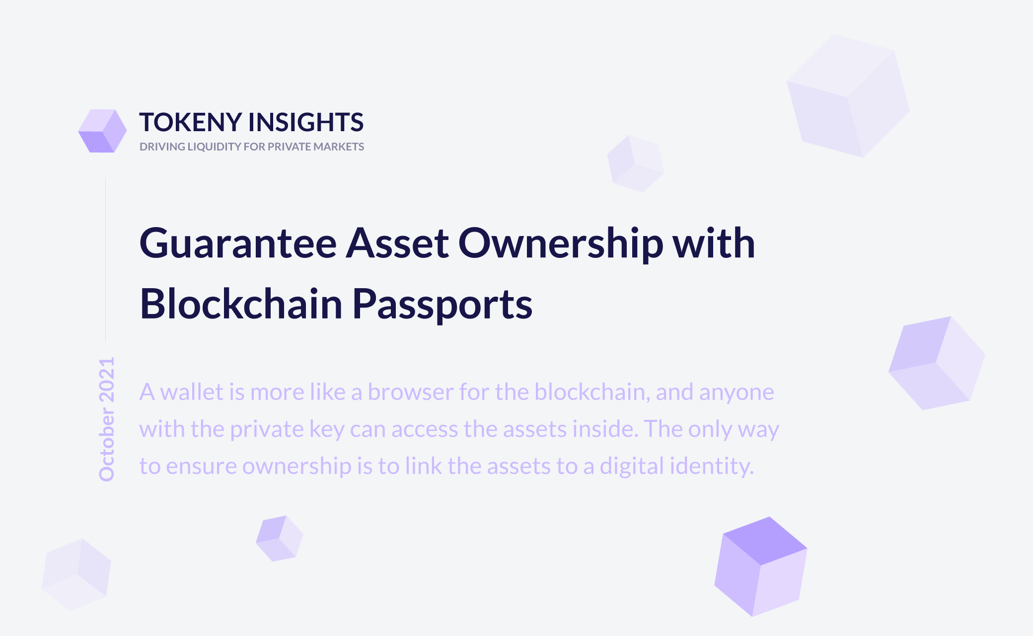 Digital identity - Blockchain passport